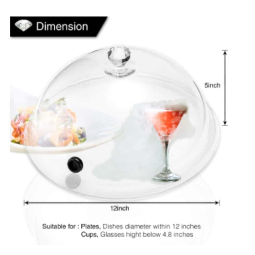 Smoking Gun Dome Dimensions