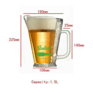 pitcher size