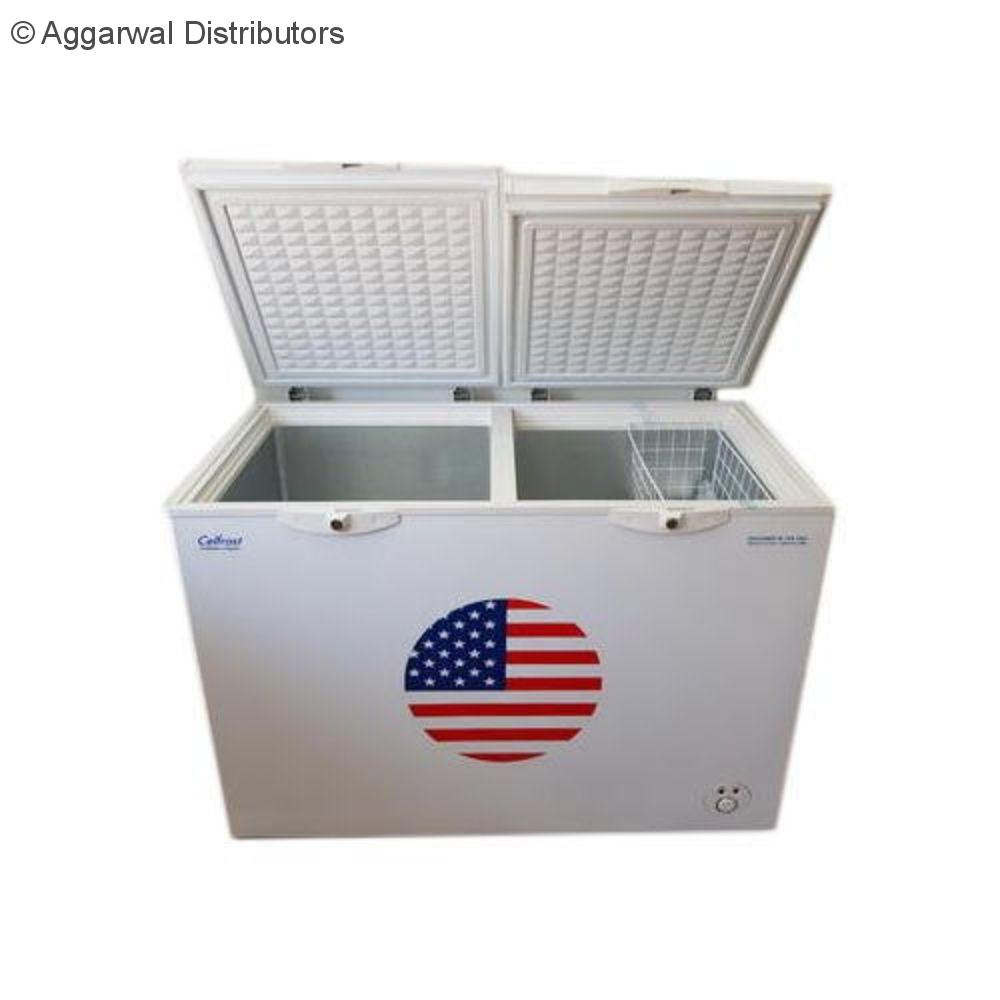 Celfrost Two Lid Hard Top Chest Freezer / Cooler CF 332 Ltrs DD 1