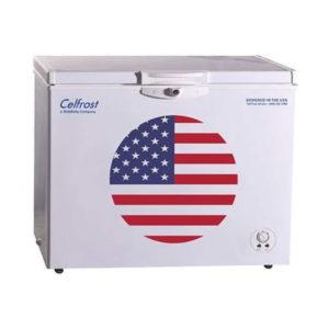 Celfrost Single Lid Hard Top Chest Freezer Cooler CF 332 Ltrs SD