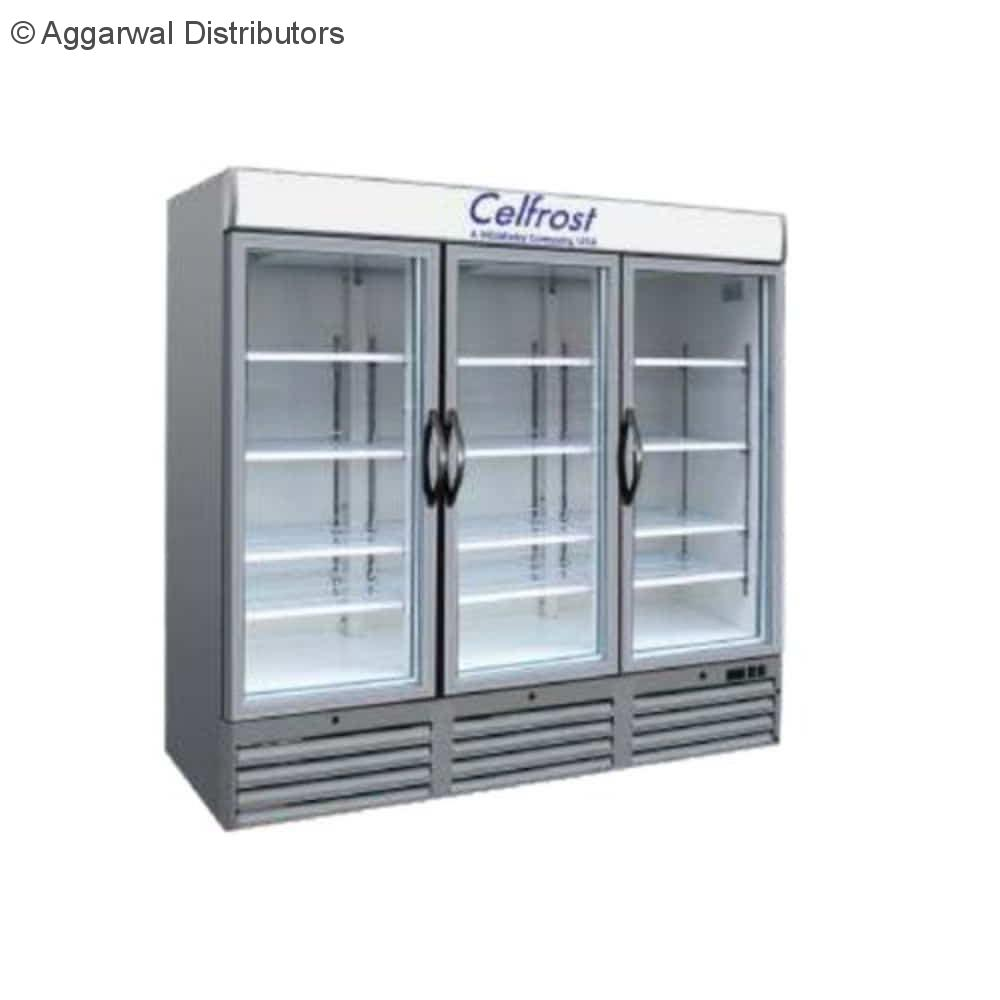 Celfrost Three Door Upright Showcase Cooler FKG 1400 ltr TD