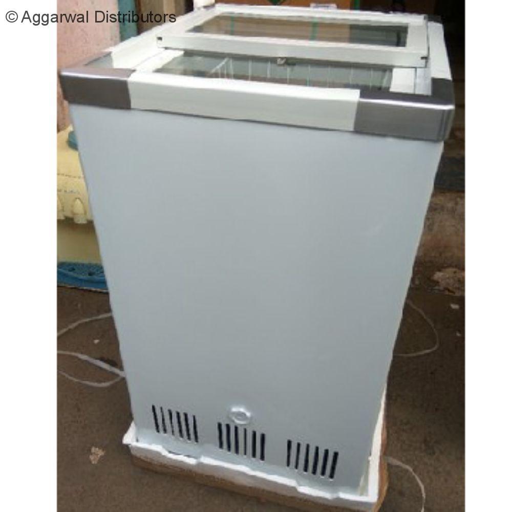 Celfrost Sliding Lid Flat Glass Top Freezer IKG 60 Ltrs 1