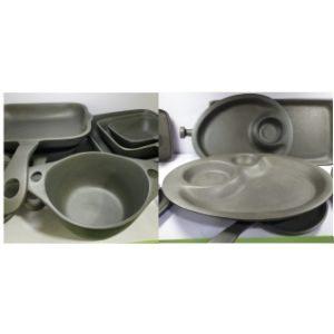 Grey Metal Tableware