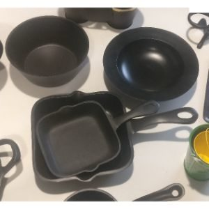 Quirky Cast Aluminium Tableware