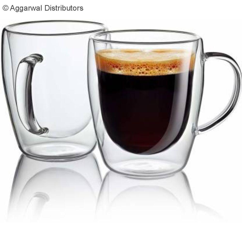 Double Wall Mug 180 ML with handle 1