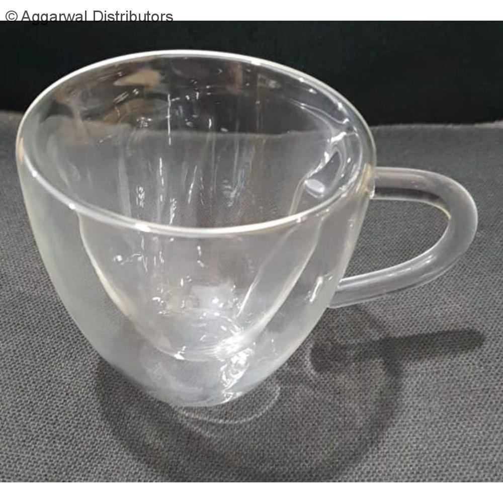 Double Wall Mug 180 ML with handle 2